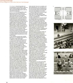 2007 - Montessori school Delft in Casabella issue 750