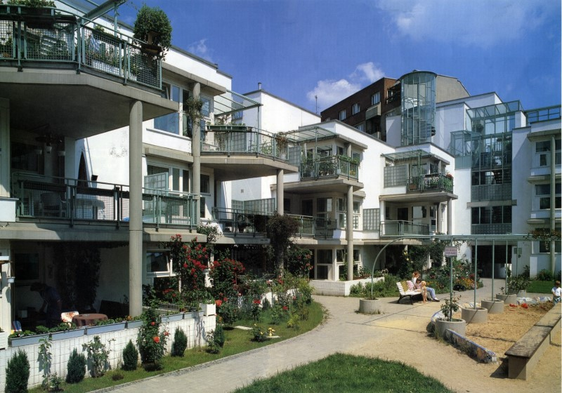 LiMa residential project (1984-1986) in Berlin has become protected monument